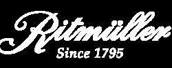 Ritmuller Logotype in White