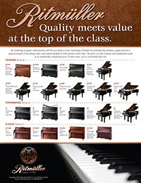 Ritmuller Pianos. Quality meets Value