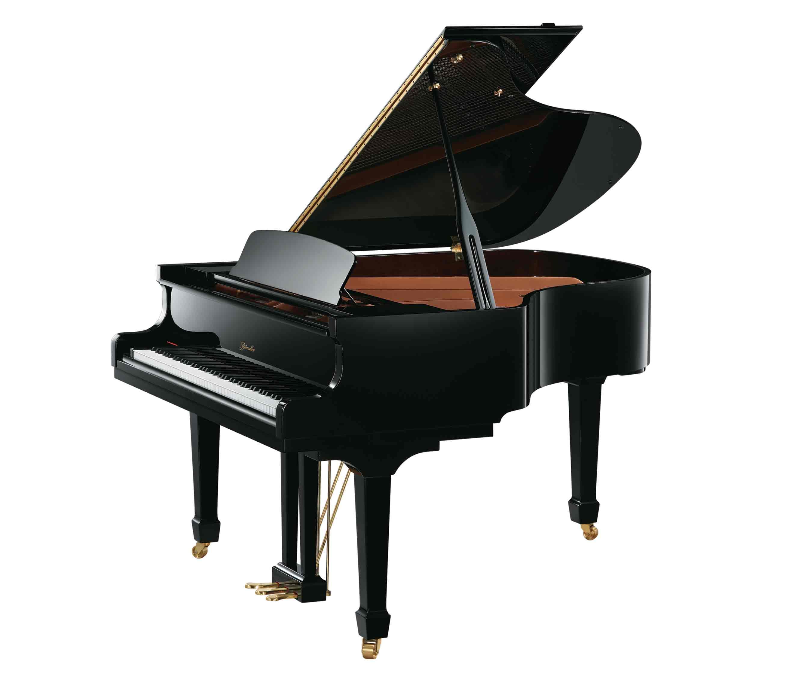 Ritmüller GH160R Medium Grand Piano in Ebony Polish finish
