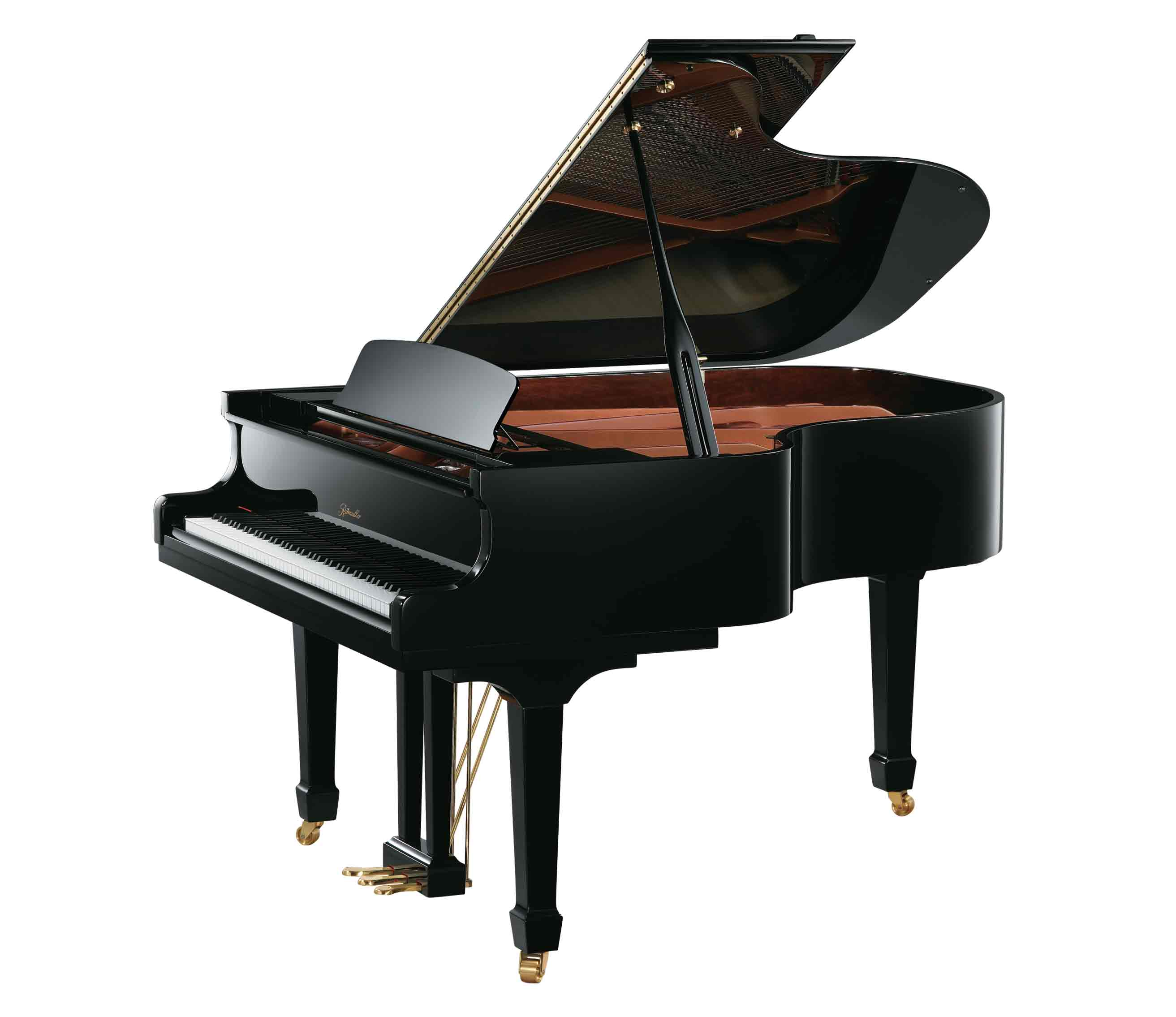 Ritmüller GH170R Living Room Grand Piano in Ebony Polish finish