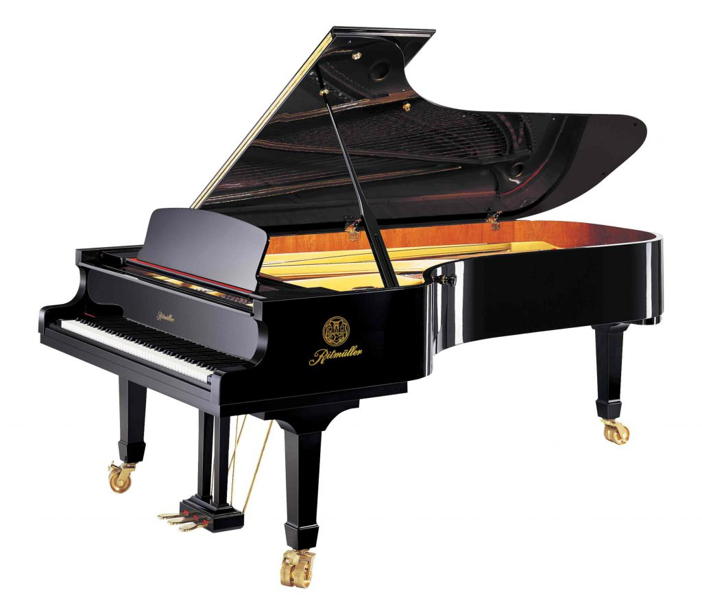 Ritmüller GH275R Concert Grand Piano in Ebony Polish finish