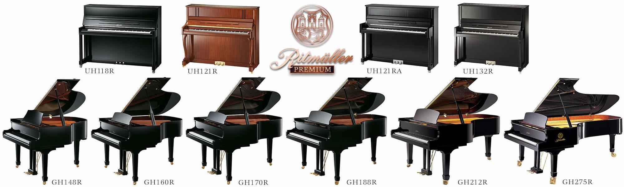 Ritmuller Premium Hi-Res Piano photos