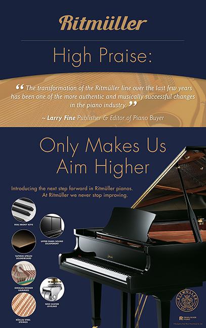 Ritmuller 9″ x 14.4″ Piano Topper-Praise