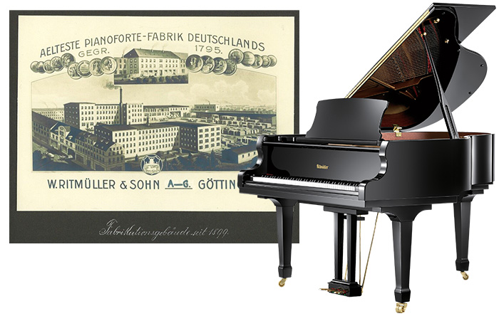 Register Your New Ritmuller Piano