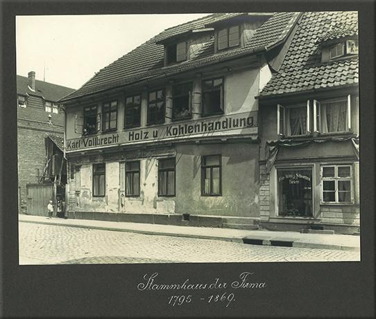 Ritmüller - Stammhaus der Firma 1795-1869
