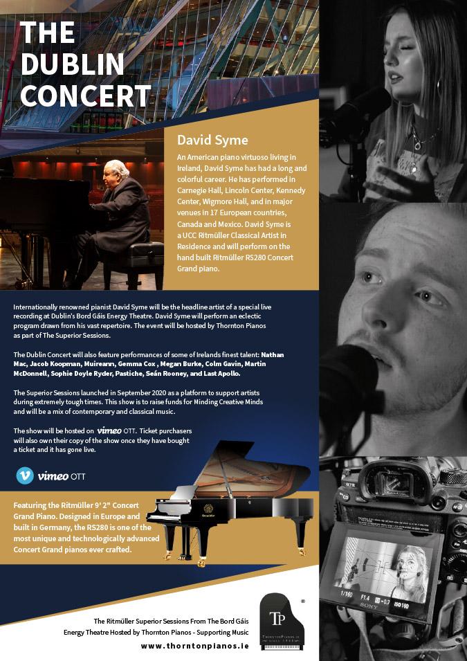 ublin Concert-Thornton Superior Session Artist